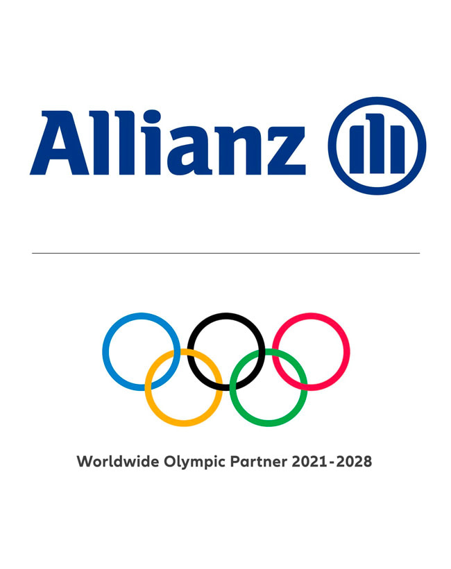 Allianz, partenaire officiel des Jeux Olympiques et Paralympiques de 2024.