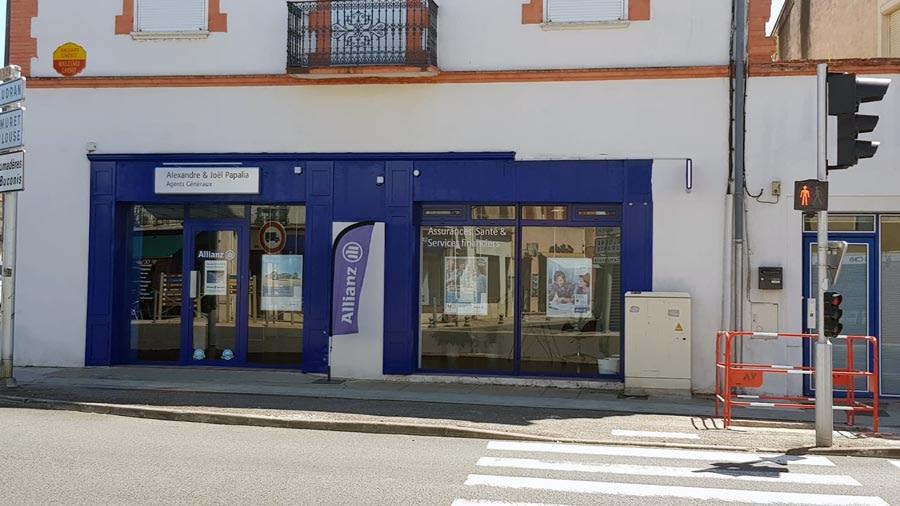 Notre agence d'assurances Allianz Papalia à l'Isle Jourdain